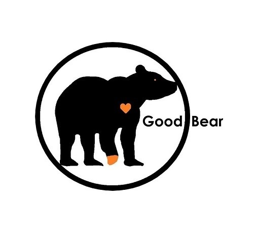 Good Bear Circly Square Logo small borderless